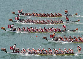 Selva Aventura - Dragon Boat Team Work
